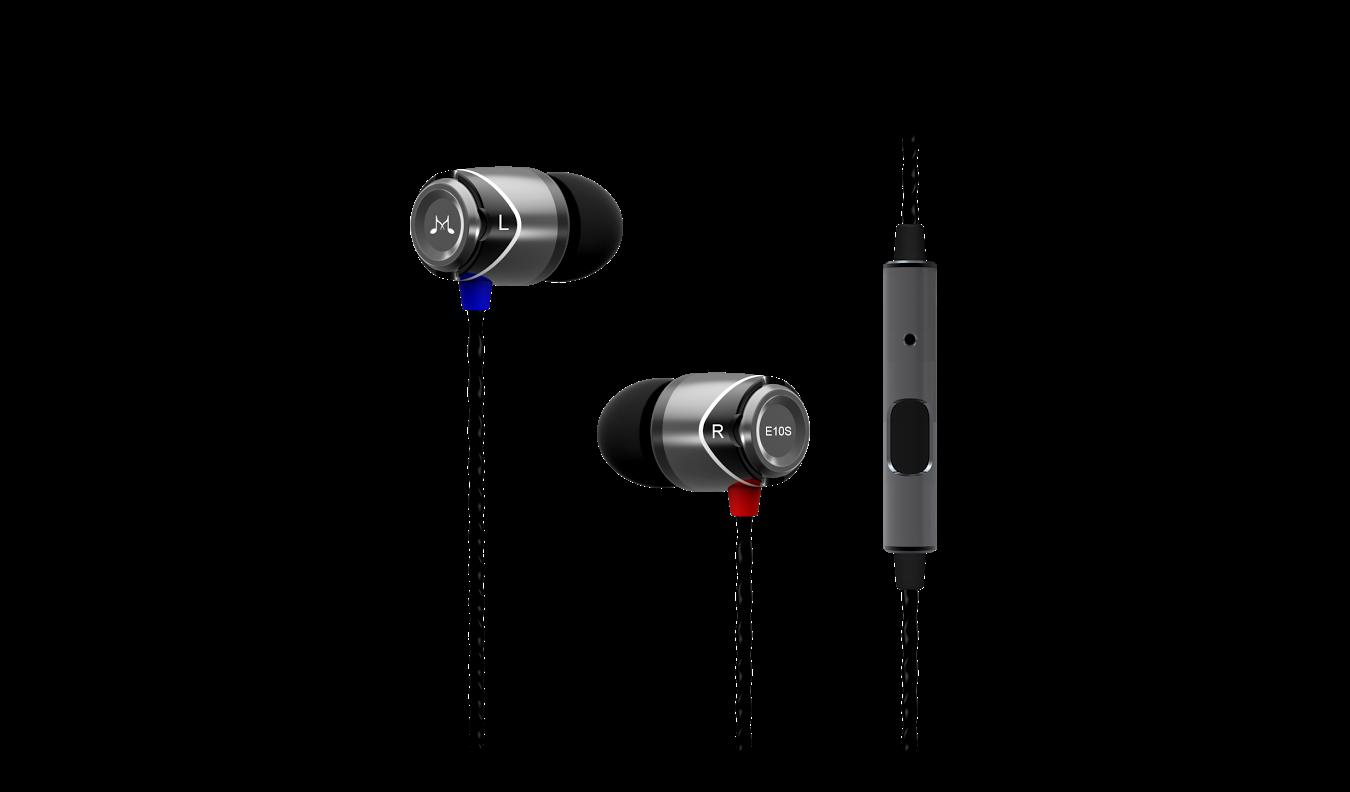 SoundMAGIC E10s – Pierwsza na Świecie Uniwersalna   słuchawka dla Telefonów i Smartphonów