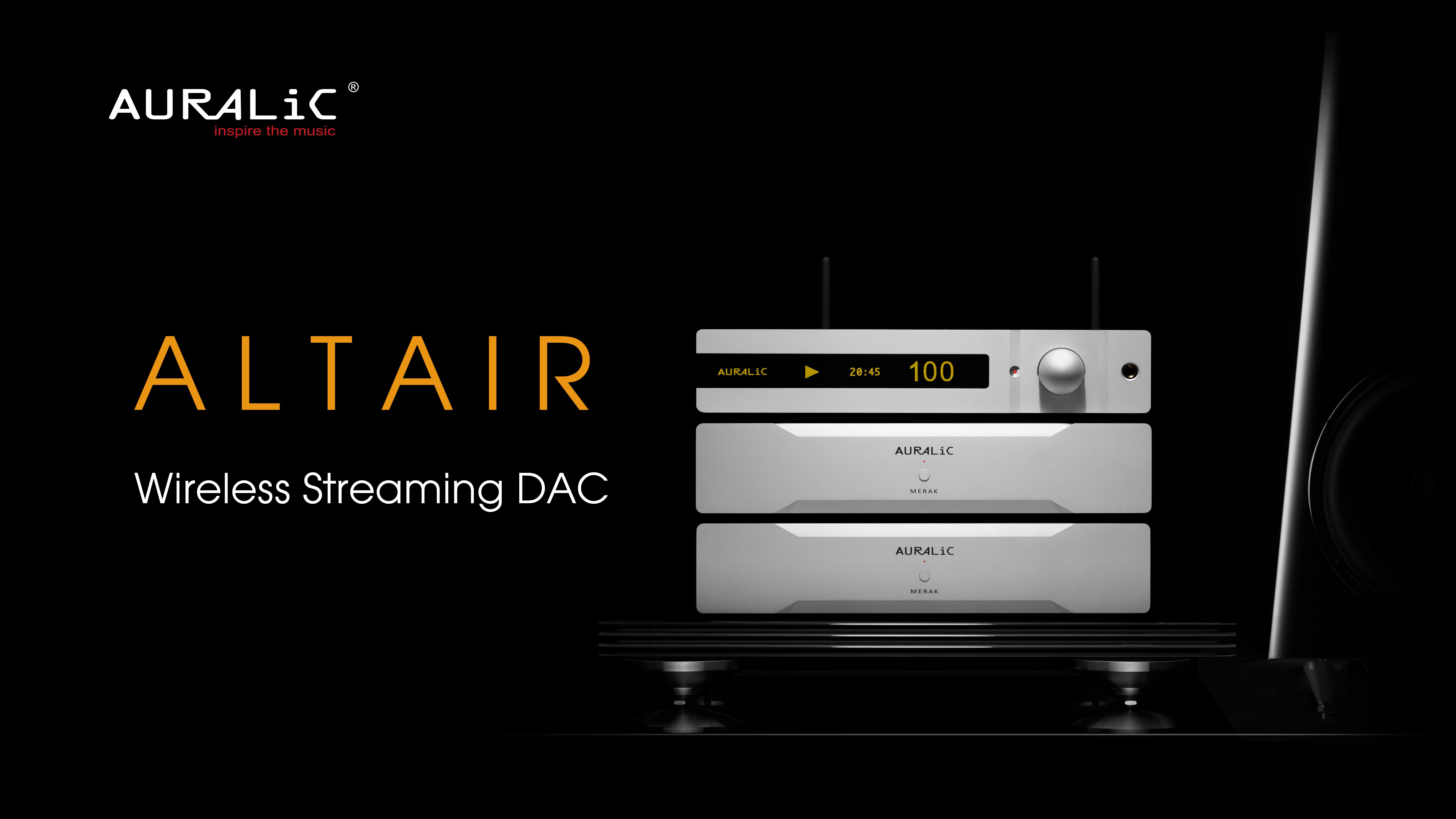 AURALIC ALTAIR – Streamer+DAC nowa odsłona