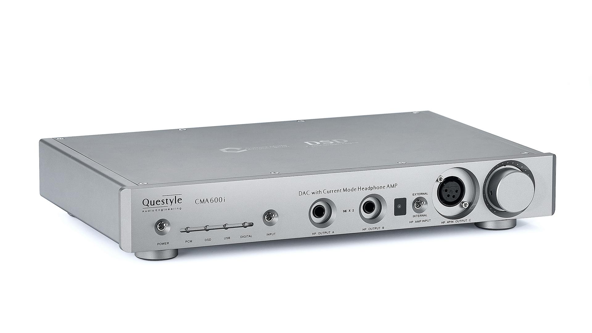 Questyle CMA600i w pełni zbalansowany, prądowy wzmacniacz