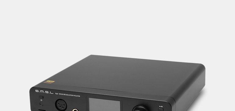 SMSL DP3 – Wszechstronny Odtwarzacz Audio
